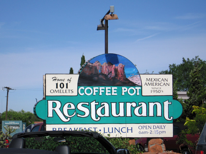 The Coffee Pot - Sedona, AZ