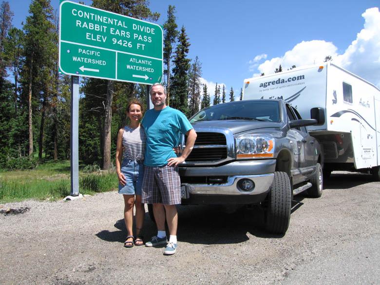 Crossing the Divide in Colorado