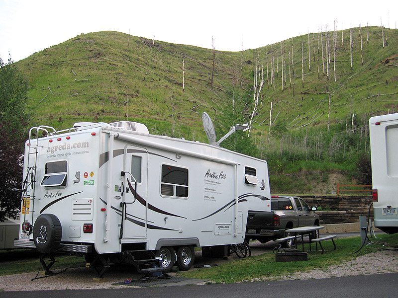 whistler gulch rv park deadwood south dakota