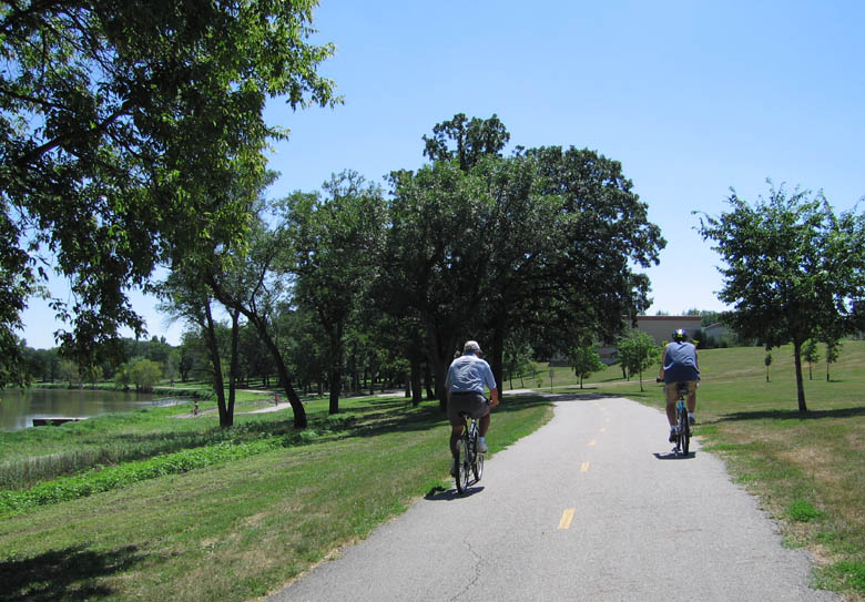 Red River Bike Trail, Fargo ND