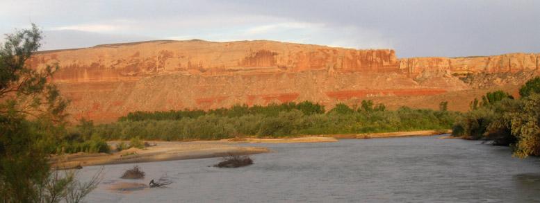 San Juan River Bluff Utah