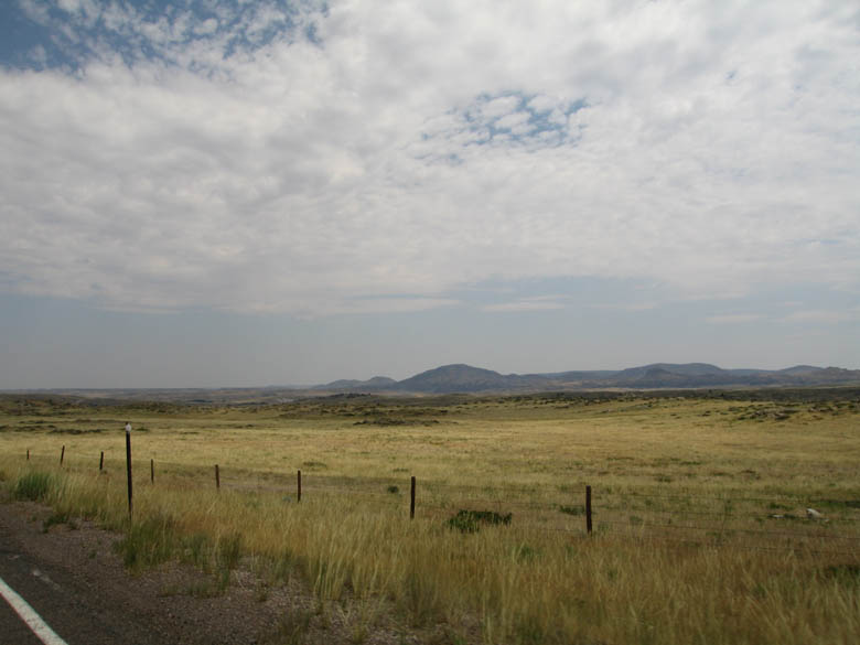 Keyhole State Park, Wyoming, countryside