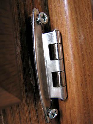 RV cabinets come loose!