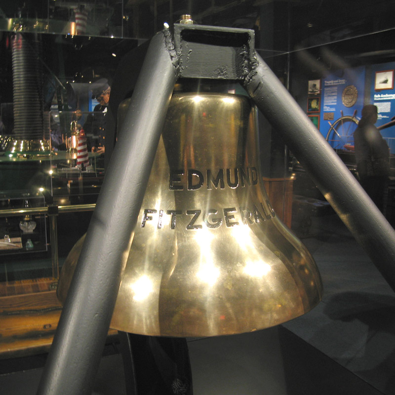 The Edmund Fitzgerald's Bell