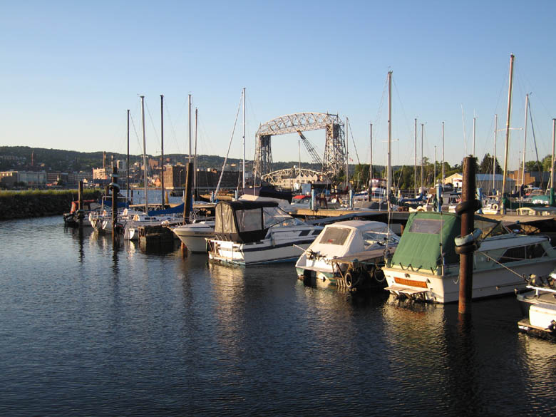 Lakeside Boat Basin RV Park Duluth MN