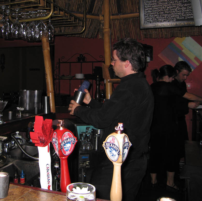 Rude Native, Oakville Toronto Canada bartender Scot