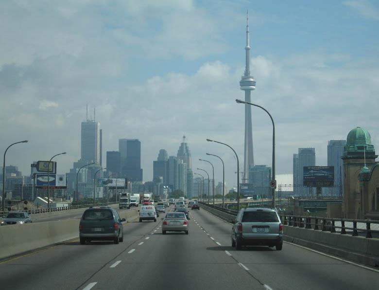 Toronto Ontario Canada Skyline