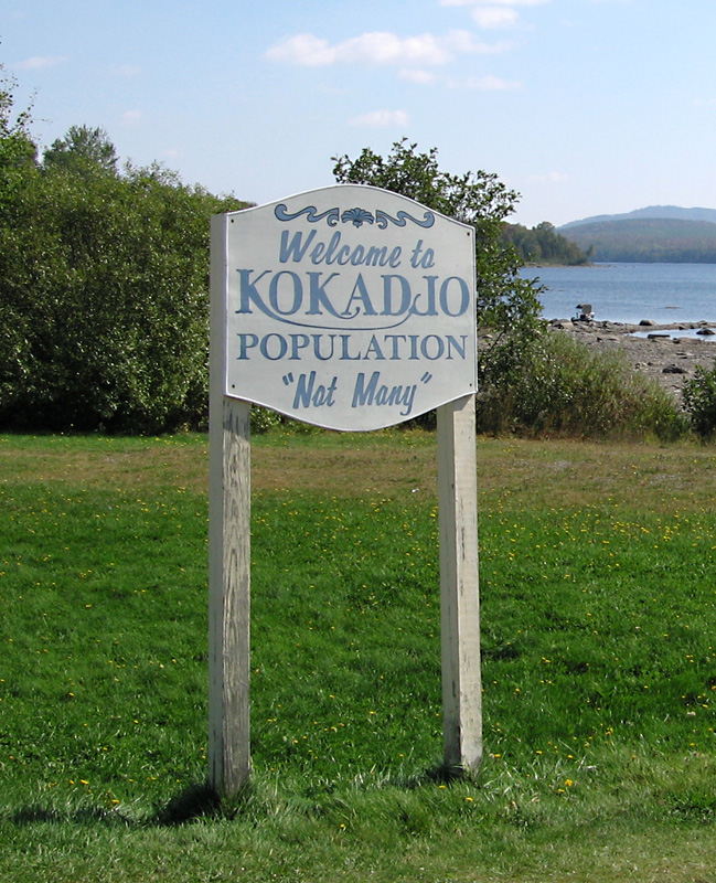 Kokadjo - Population: Not Many