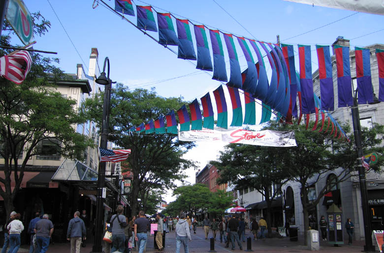Downtown Burlington Shopping District