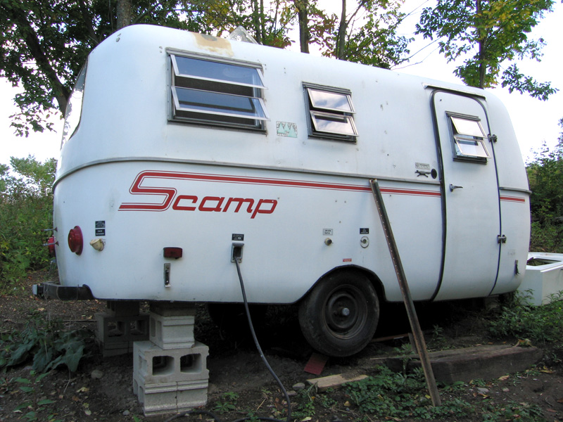 1981 Scamp Trailer Work in Progress
