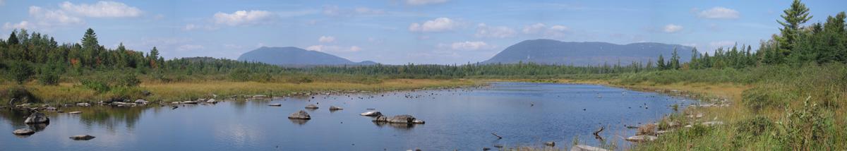 Mt. Katahdin Panorama