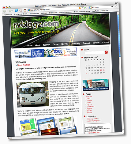 Get your own free travel blog.