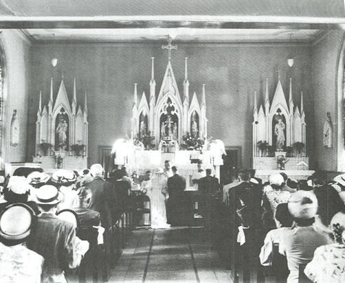 Original St. Andrews Altar