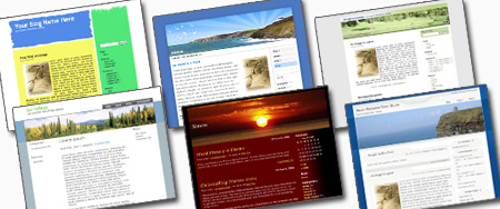 free blog design themes