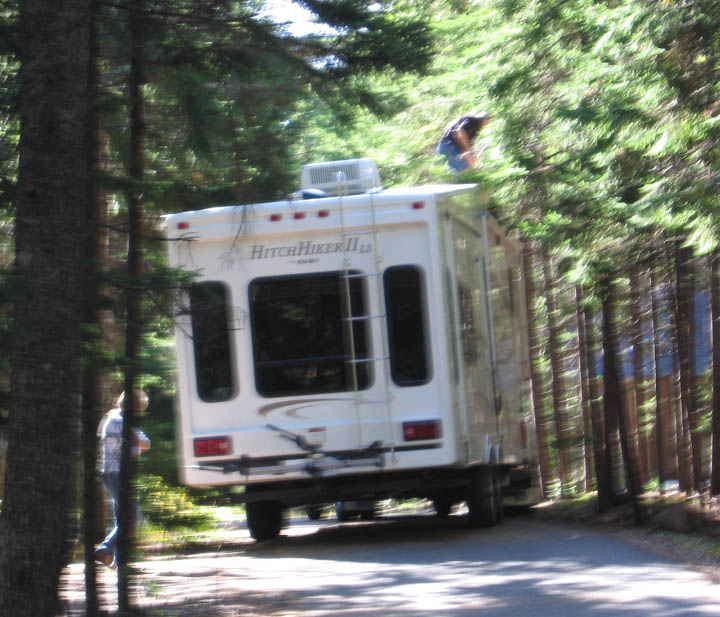 Hitchhiker II RV size