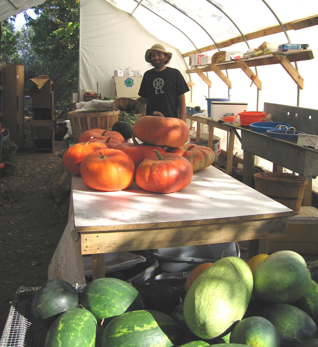 Oliver Teleion Holon Retreat and CSA Farm