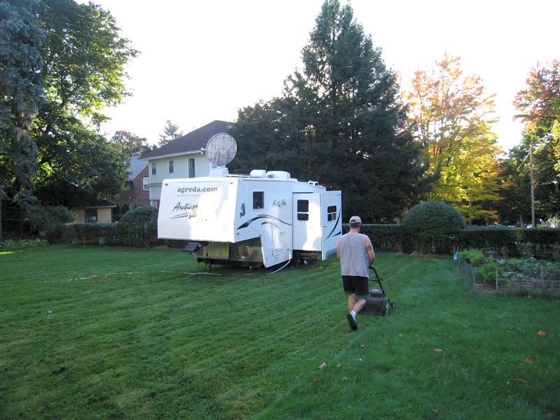 RV Yardwork
