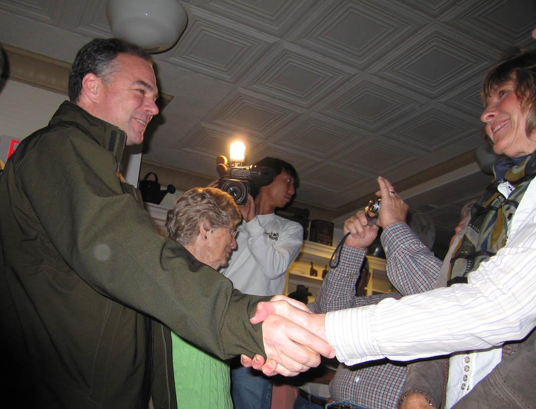 Virginia Governor Tim Kaine