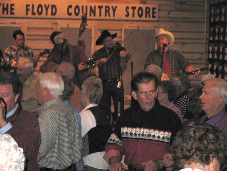 The Jugbusters at the Floyd Country Store