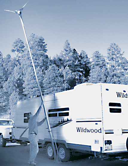 Telescoping RV Tower