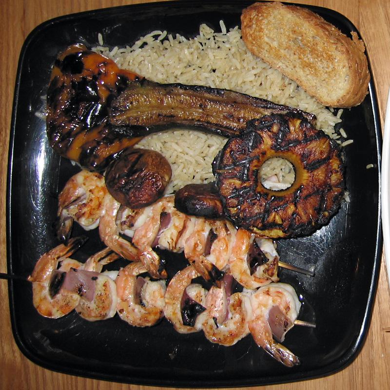 North Carolina Shrimp Dinner
