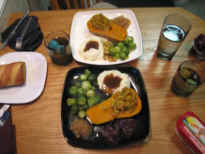 Turkey Dinner Without the Turkey