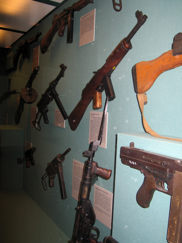West Point Museum Gun Display