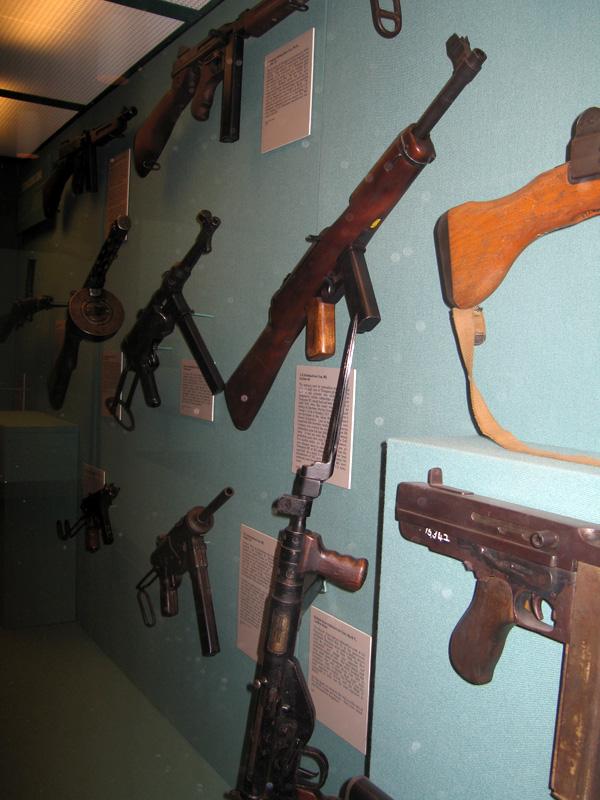 West Point Museum Gun Display