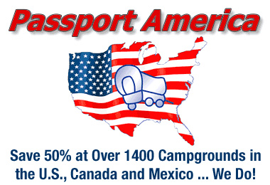 Save on Campground Fees with Passport America