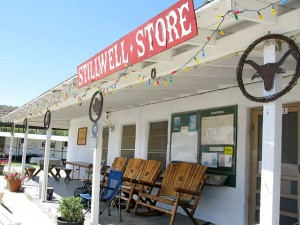 Stillwell Store and RV Park Porch Big Bend Texas