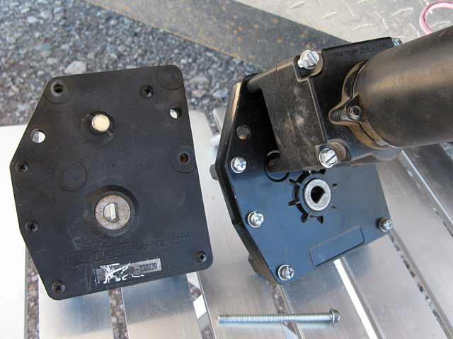 Fifth Wheel Trailer Landing Gear DC Motor Gearbox