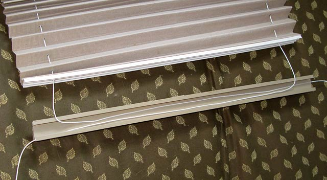 How To Repair Pleated RV Shade