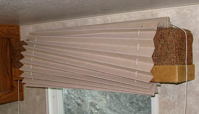 How To Restring Pleated RV Shade