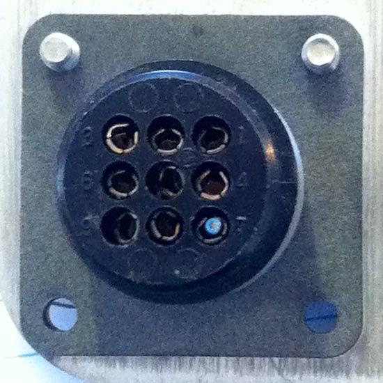 MotoSat D3 Control Cable F2 Mount Plug