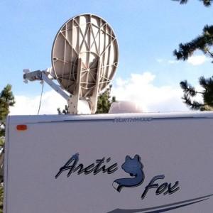 MotoSat F2 Satellite Internet Dish Wiring