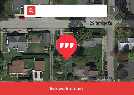 What 3 Words Live Work Dream