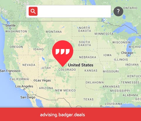 What 3 Words USA Map