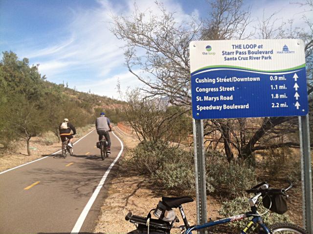 Tucson bike commute