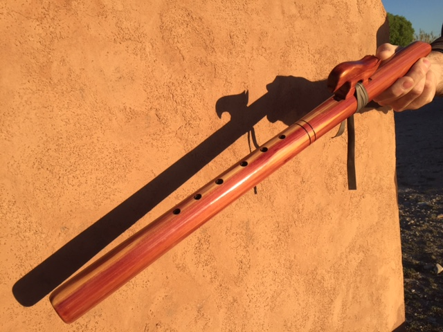 Handmade wooden flute Marathon TX
