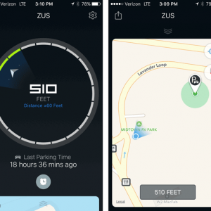 Nonda Zus Car Locator App