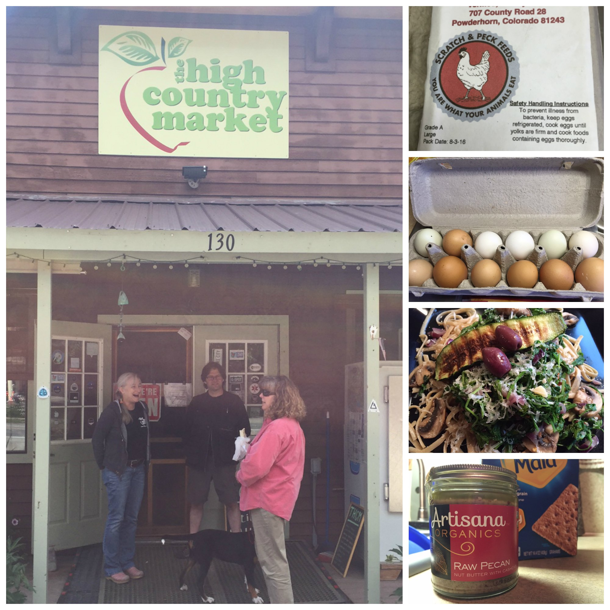 The High Country Market Rocks Lake City Colorado