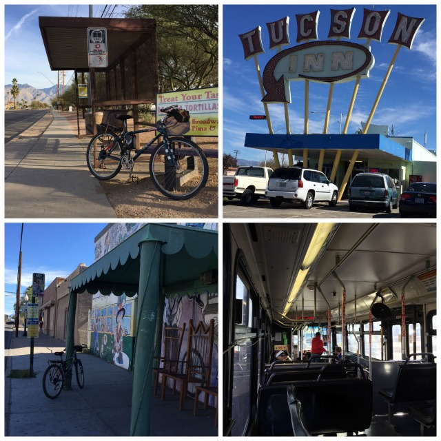 Tucson by bus and bike