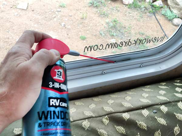 3 in 1 RV Care Window Track Dry Lube