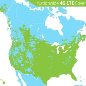 Winegard ConnecT 4G LTE Coverage Map