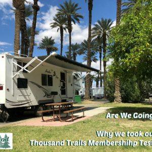 Thousand Trails Membership Test