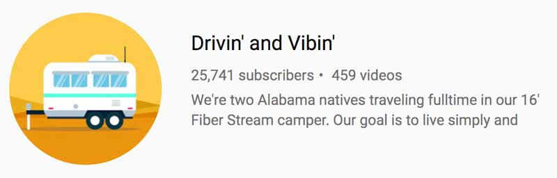 Drivin and Vibin Youtube Channel
