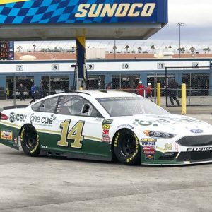 Stewart-Haas-Racing-14-One-Cure-Car