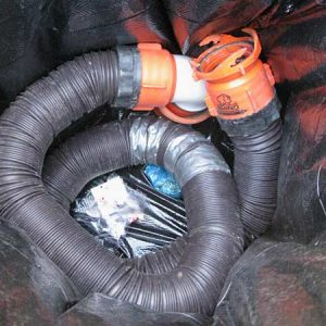 Rhino-TV-Sewer-Hose-in-Trash